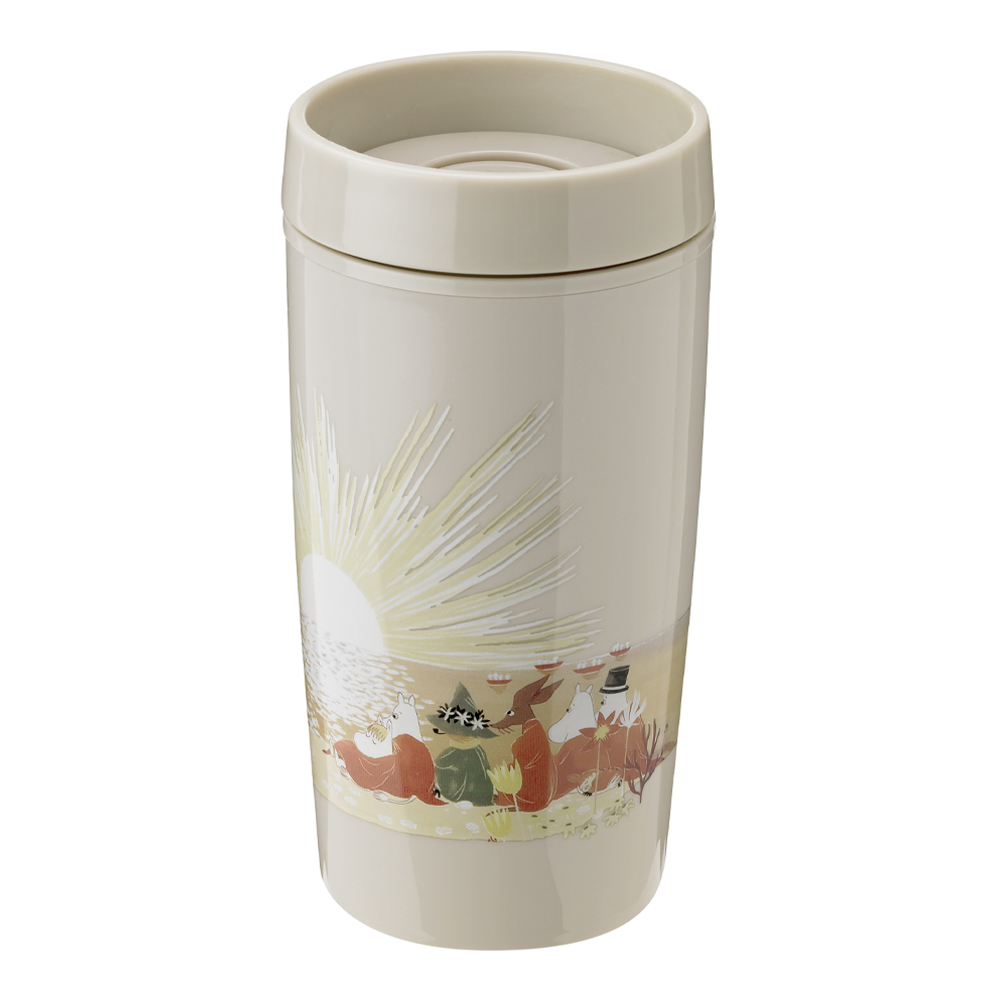 Mumin Bring-It To Go Mugg 34 cl Sand