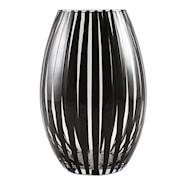 Twist Vas 20 cm konvex Svart