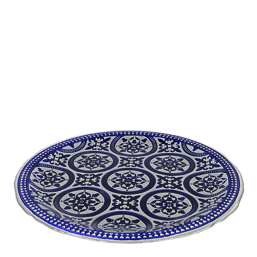 Marrakesh Fat 33 cm Blå