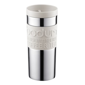 Travel Mug Resemugg 35 cl Vit/Krom