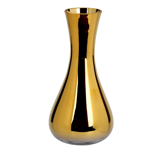 Alva Vas 15 cm Kopparfärgat glas