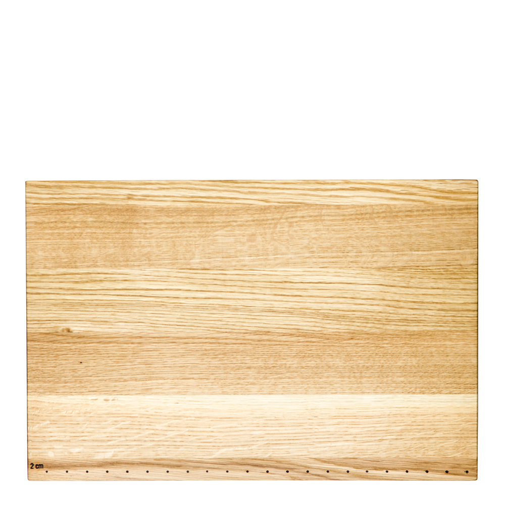 Skärbräda i ek 55x38 cm