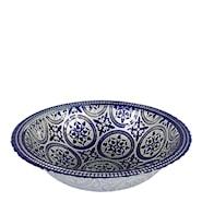 Marrakesh Skål 31 cm Blå
