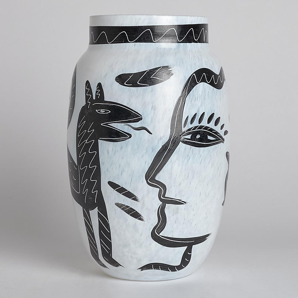 SÅLD Vintage Caramba Vas 20 cm