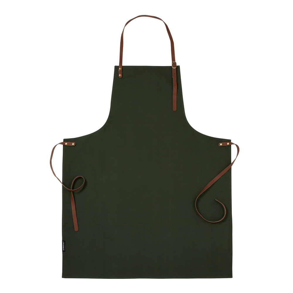 Morberg Förkläde 100x70 cm  Grön canvas