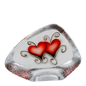 Crystal Ink Block Heart 11x14,5 cm