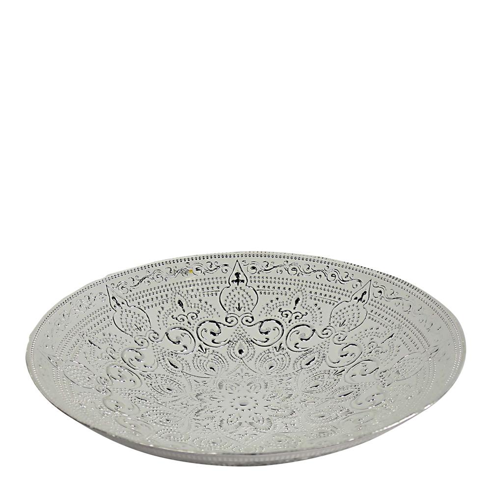 Piastrelle Fat 40 cm Silver