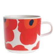 Oiva/Unikko Kaffemugg 20 cl Röd