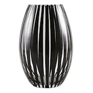 Twist Vas 26 cm konvex Svart