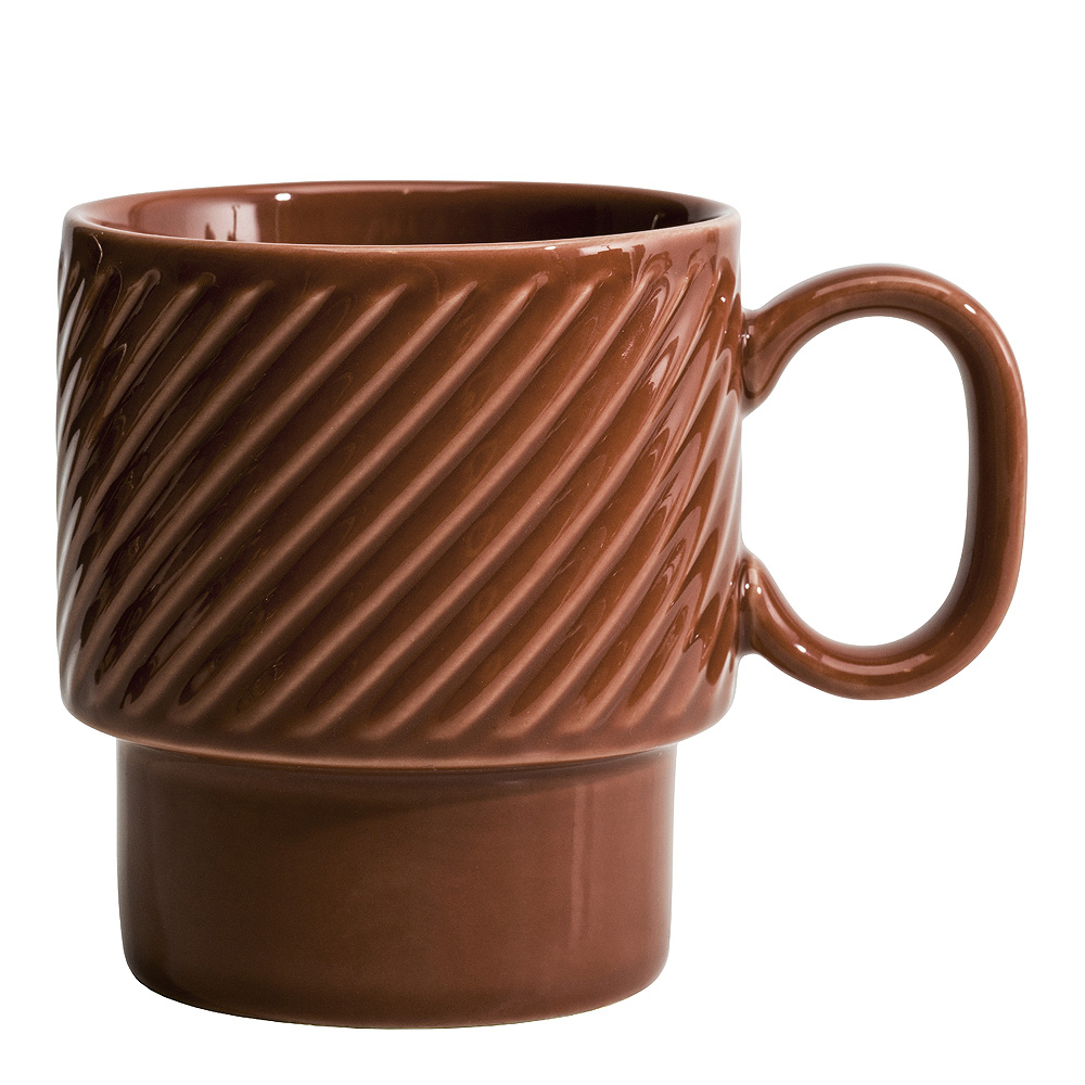 Coffee & More Kaffemugg Terrakotta 25 cl