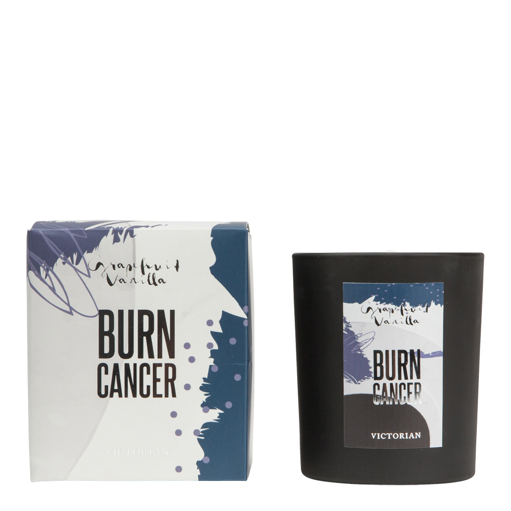 Doftljus Burn Cancer Silver