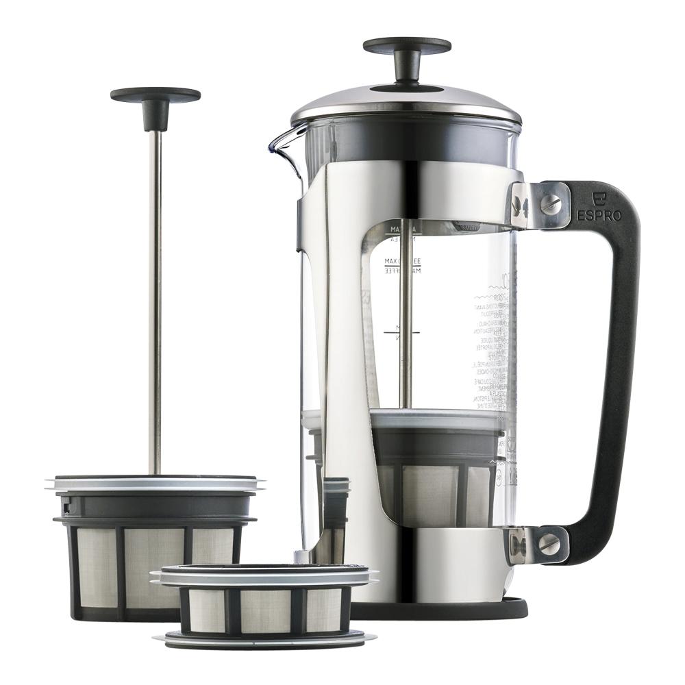 P5 Kaffepress 8 koppar glas