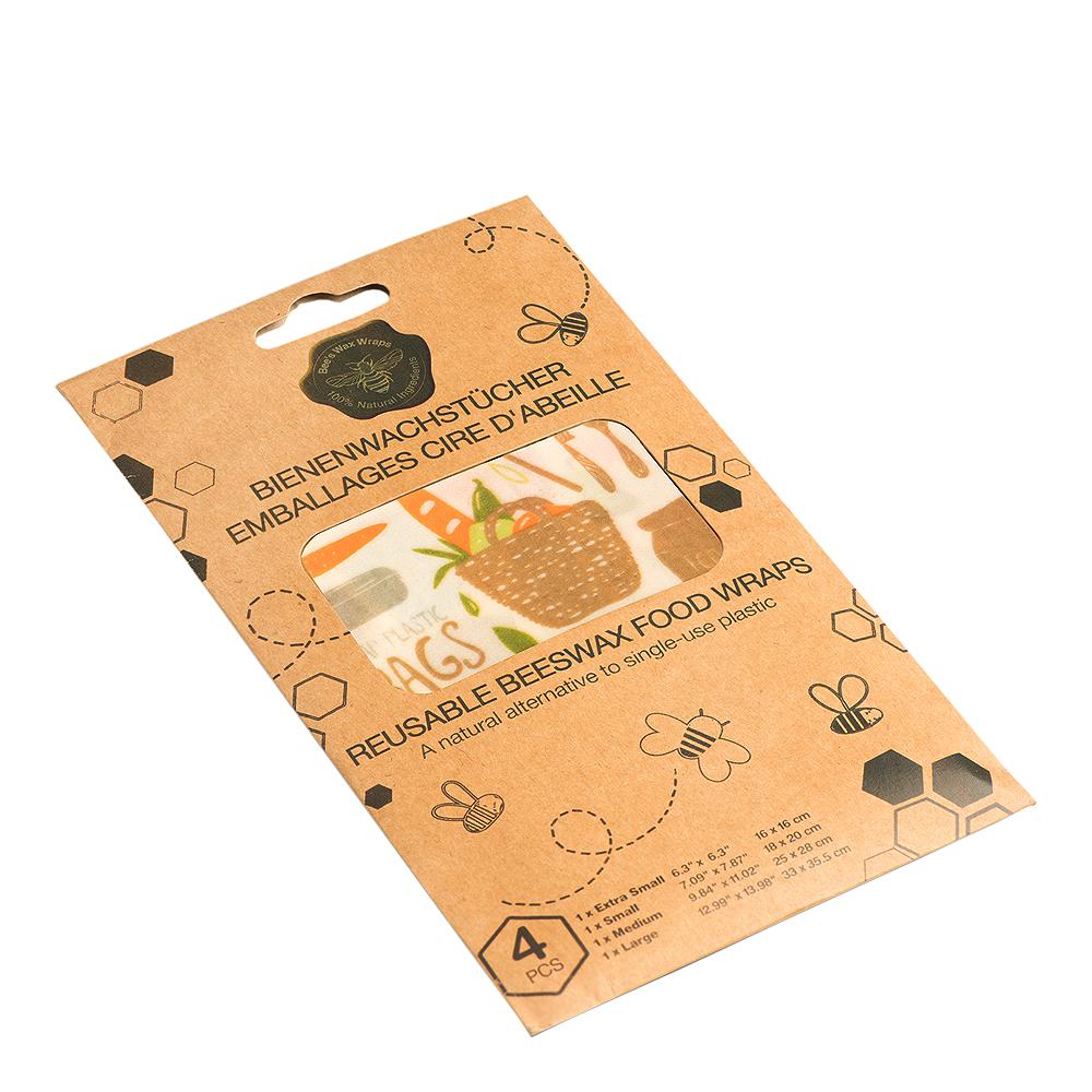 Bivaxduk Zero Waste 4-pack