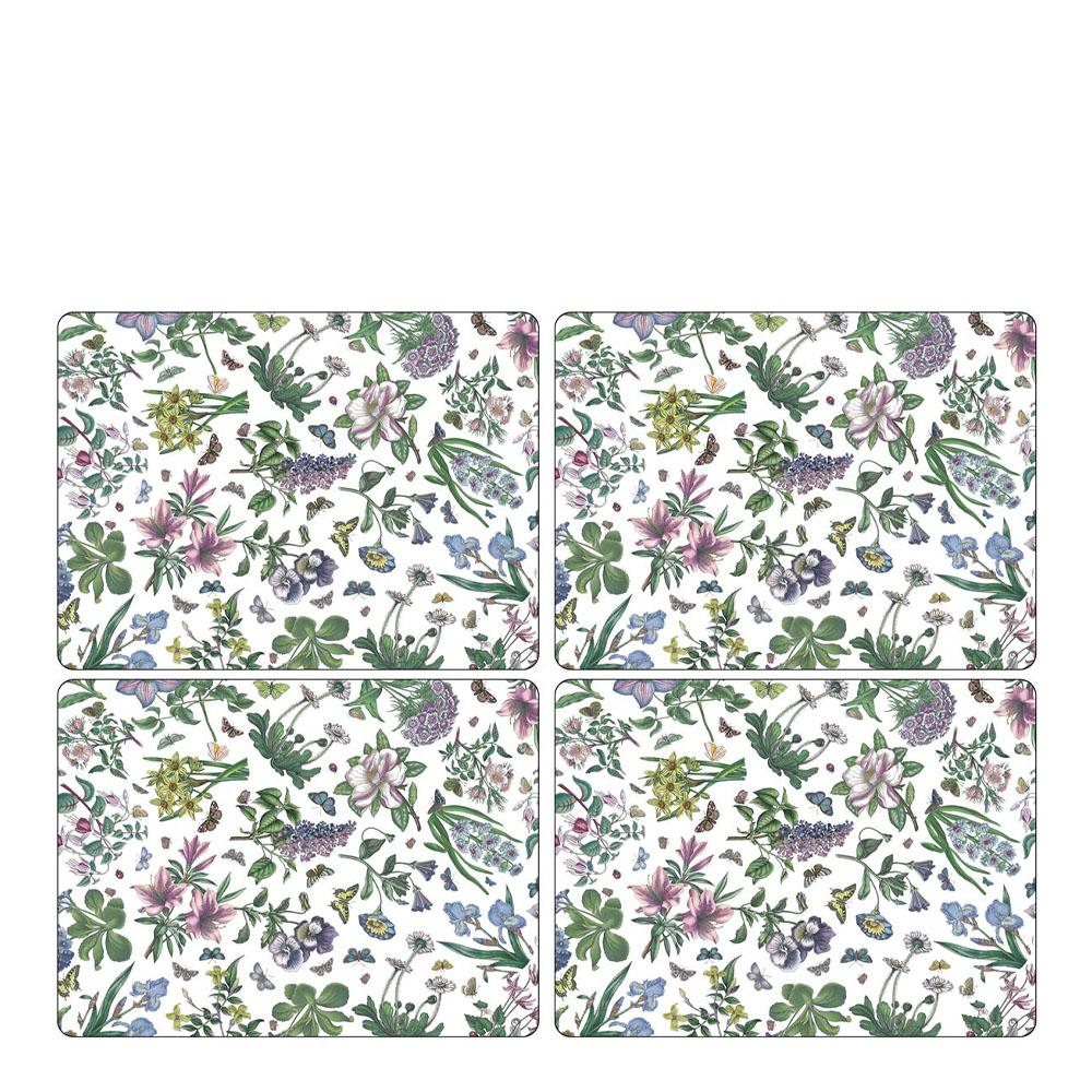 Botanic Garden Chintz Tablett 30x40 cm 4-pack