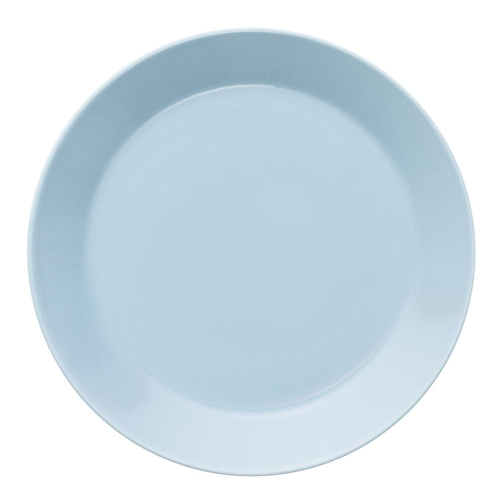 Teema Tallrik flat 21 cm Ljusblå