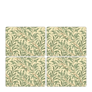Willow Bough Green Bordstablett 4-pack