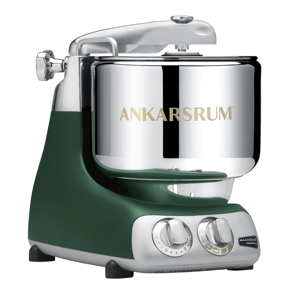 Ankarsrum Assistent Original Köksmaskin + Kokbok Forest Green
