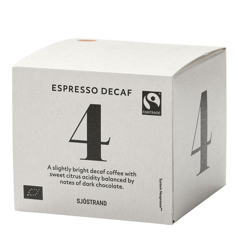 N°4 Espressokapslar Decaf 10-pack