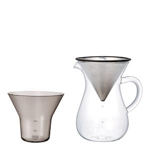 Slow Coffee Bryggset 600 ml rostfri