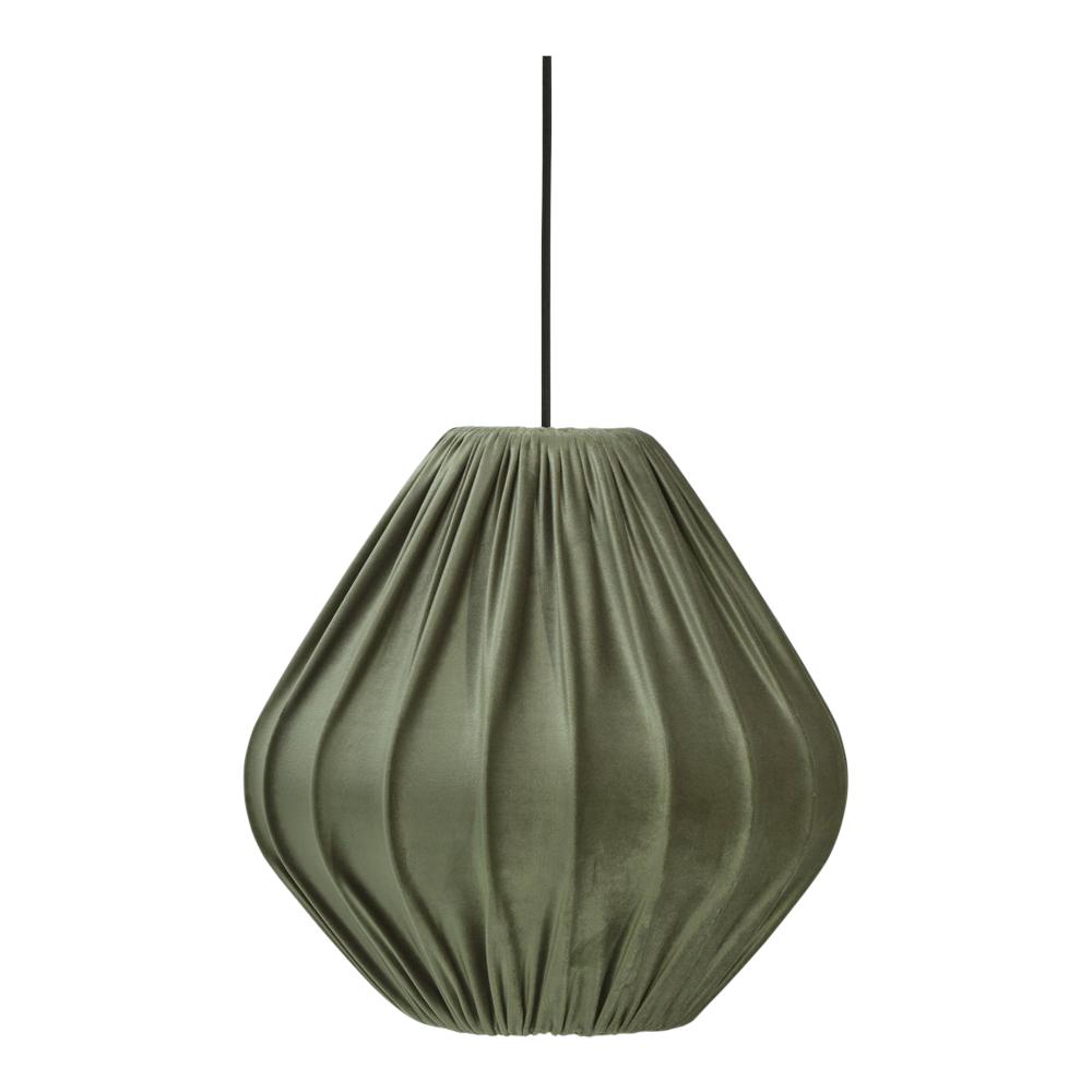 Malou Takskärm 40 cm Grön sammet