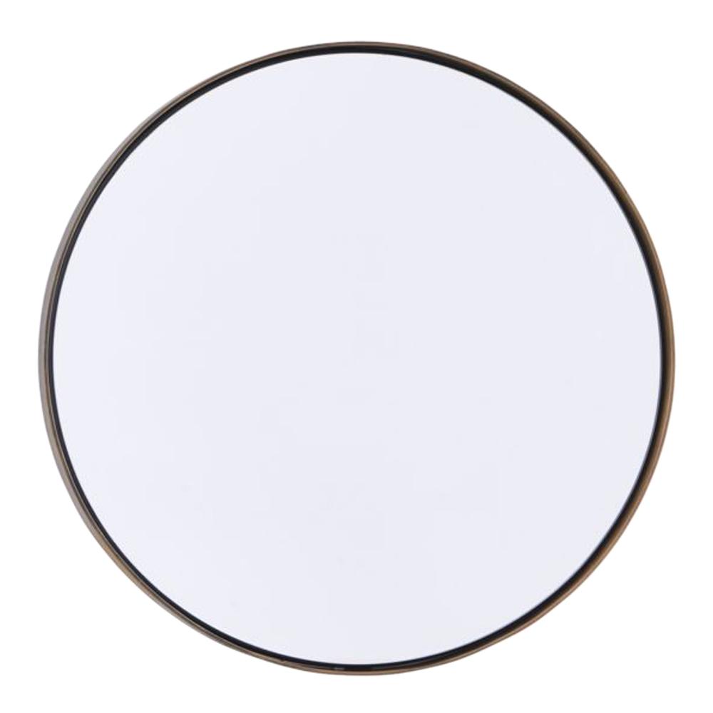 Reflektion Spegel 40 cm Antik mässing