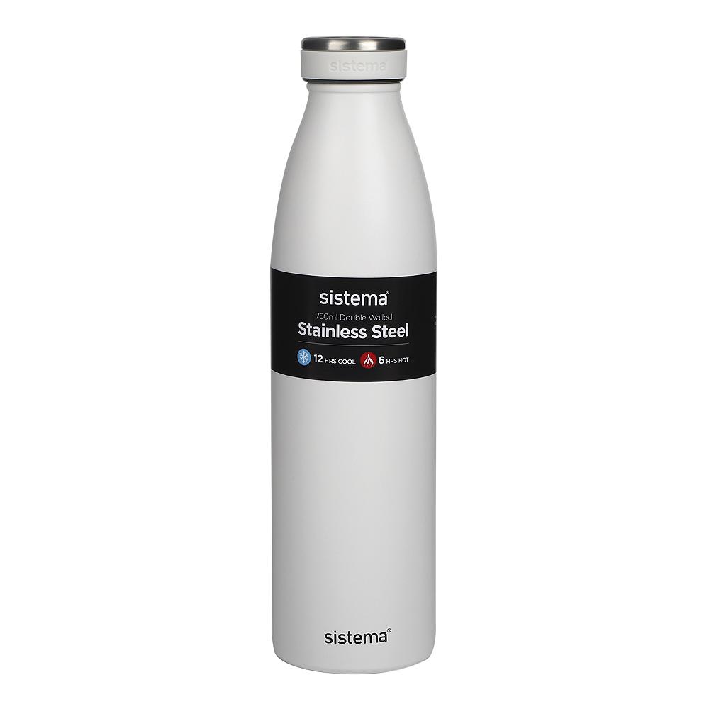 Termosflaska Rostfritt stål 750 ml Vit