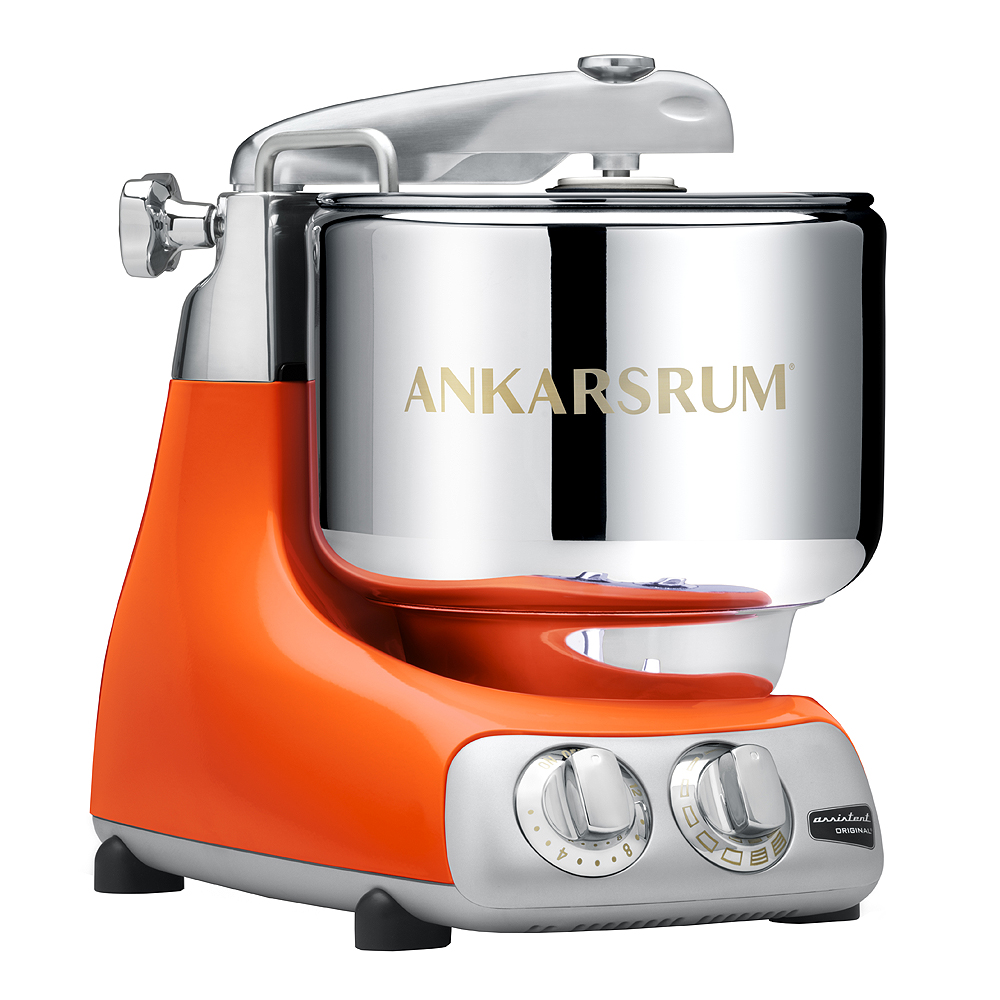 Ankarsrum Assistent Original Köksmaskin + Kokbok Pure Orange