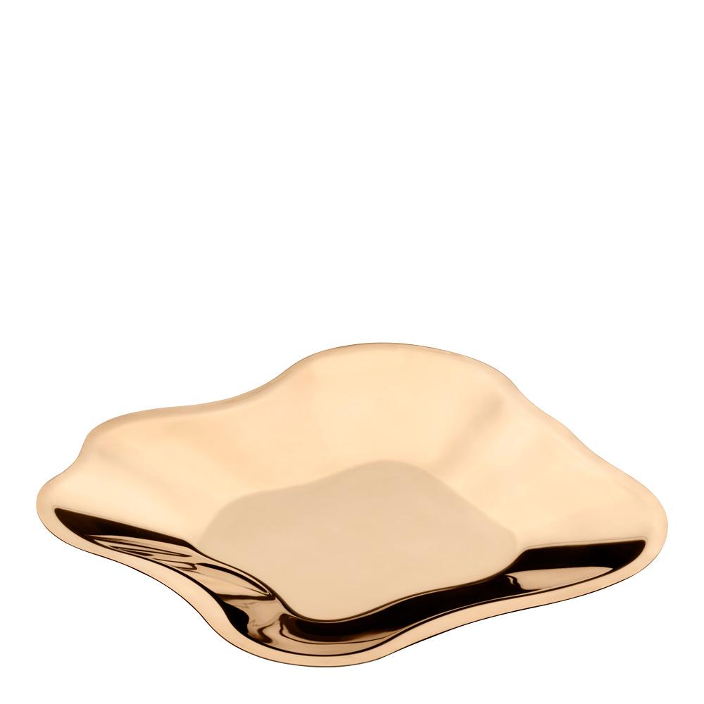 Aalto Skål/Fat 18 cm Roseguld