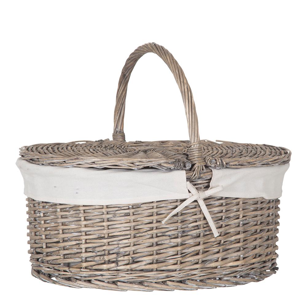 Picknickkorg 49x36x42 cm