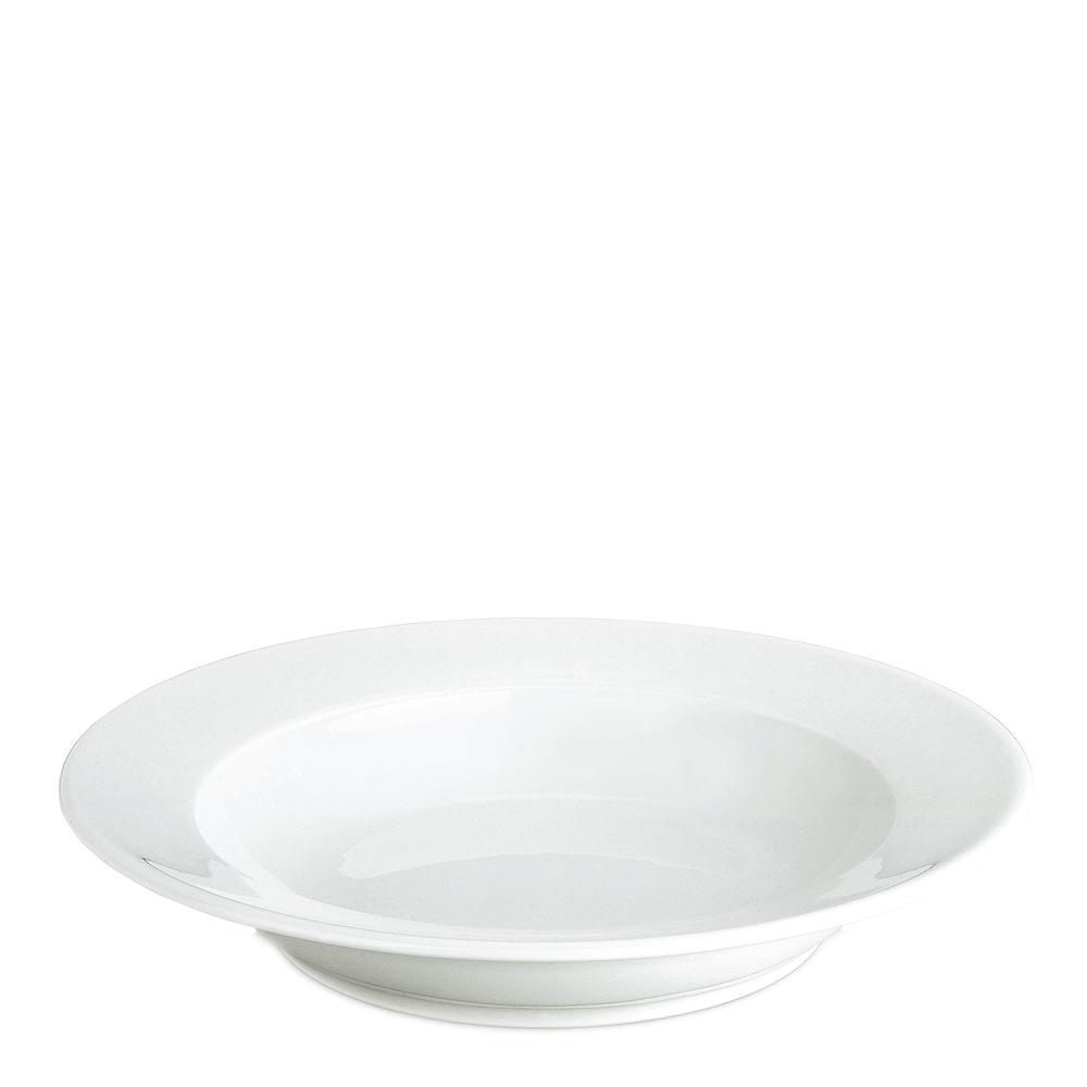 Sancerre Pastatallrik djup Vit 28 cm