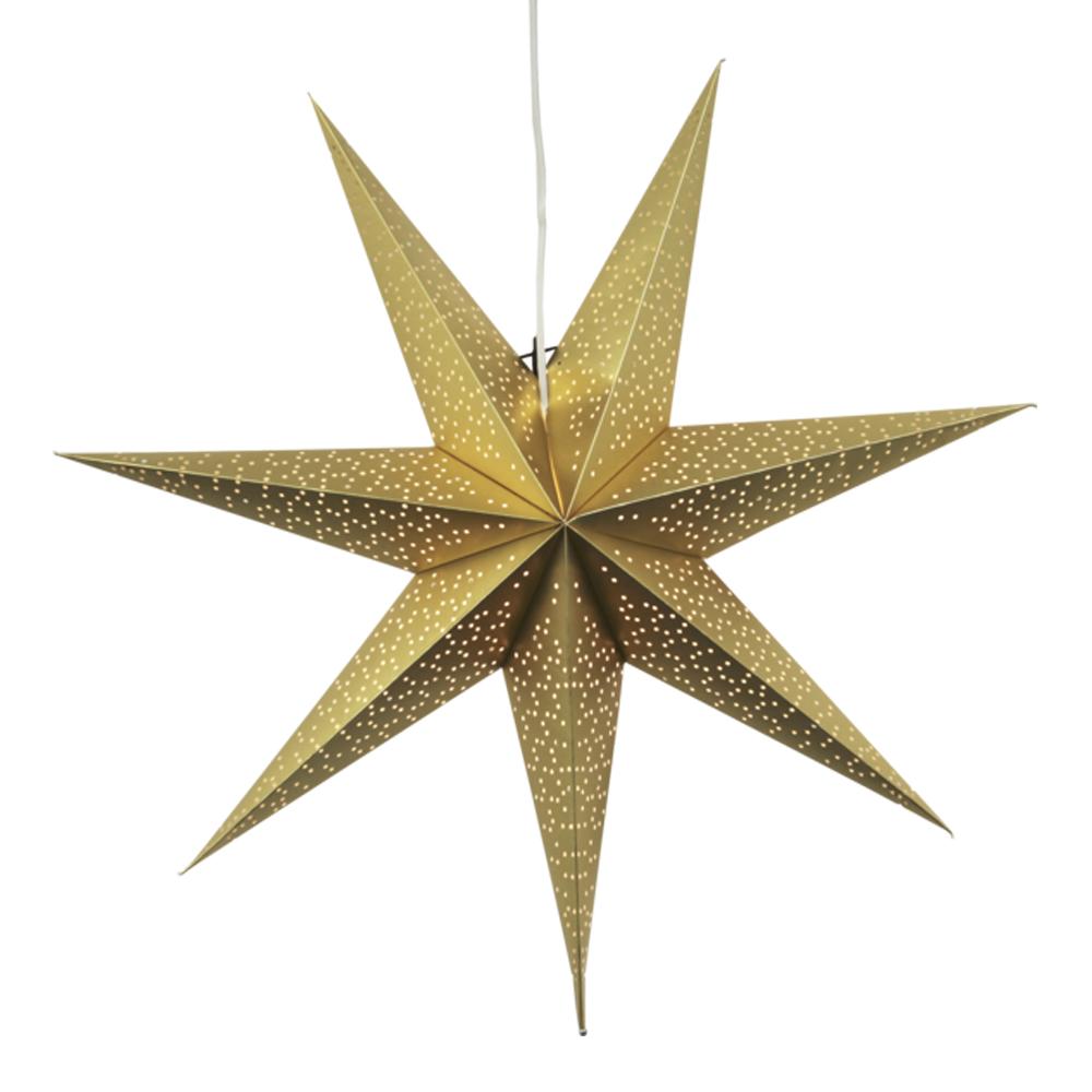 Dot Stjärna 70 cm Guld