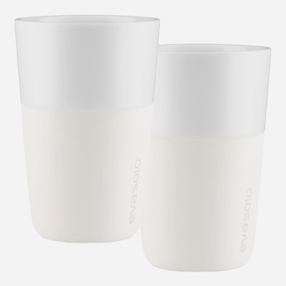 Caffelattemugg Ivory White 2-pack