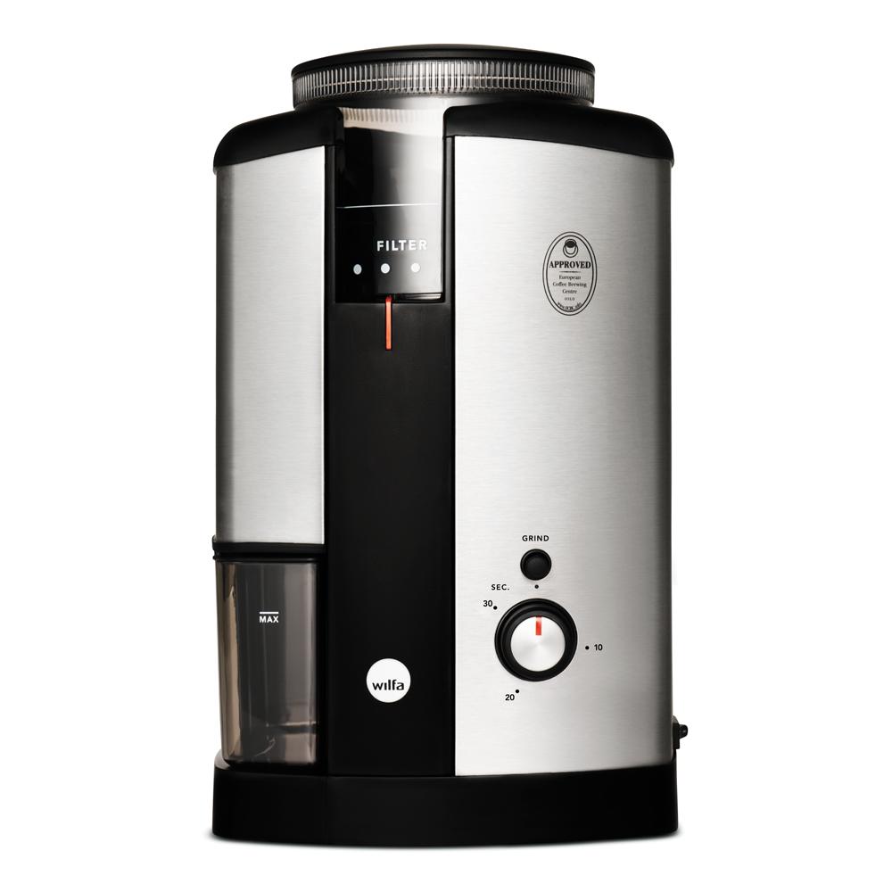 Svart Nymalt Kaffekvarn WSCG-2
