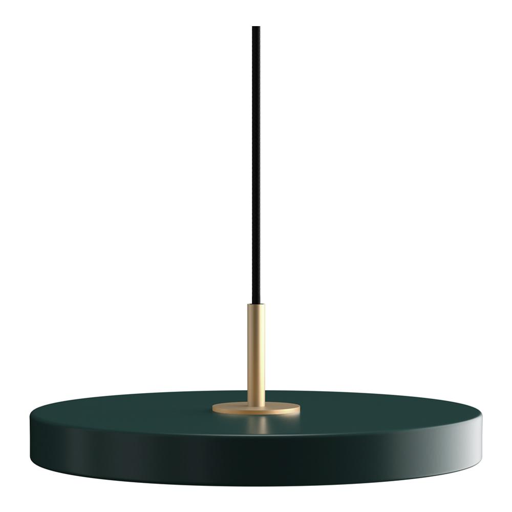 Asteria Taklampa med sladd mini 31 cm Skogsgrön