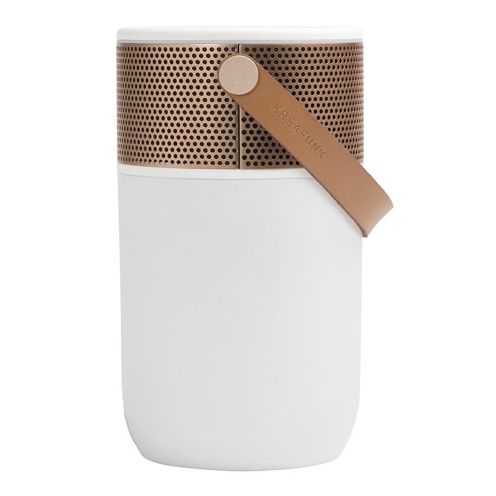 aGlow Högtalare Bluetooth Vit/Roséguld