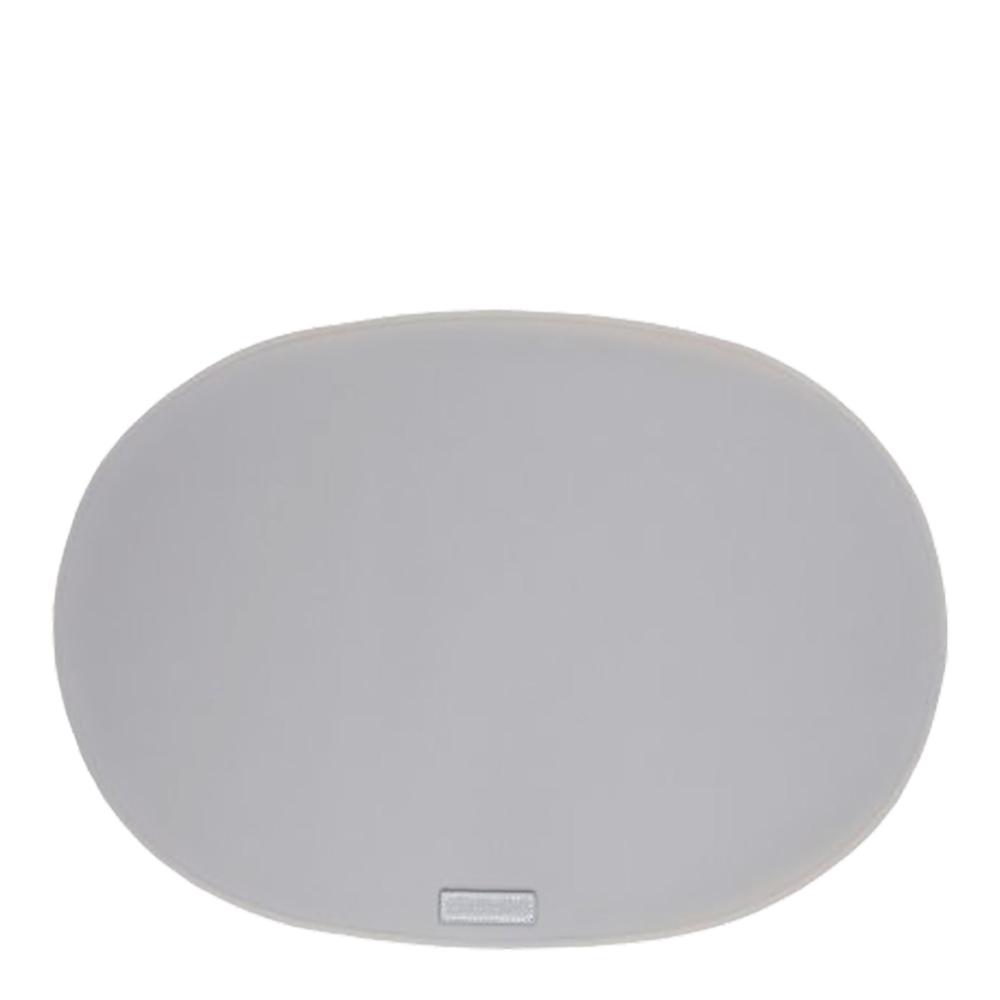 Rubber Tablett 34×47 cm Ljusgrå