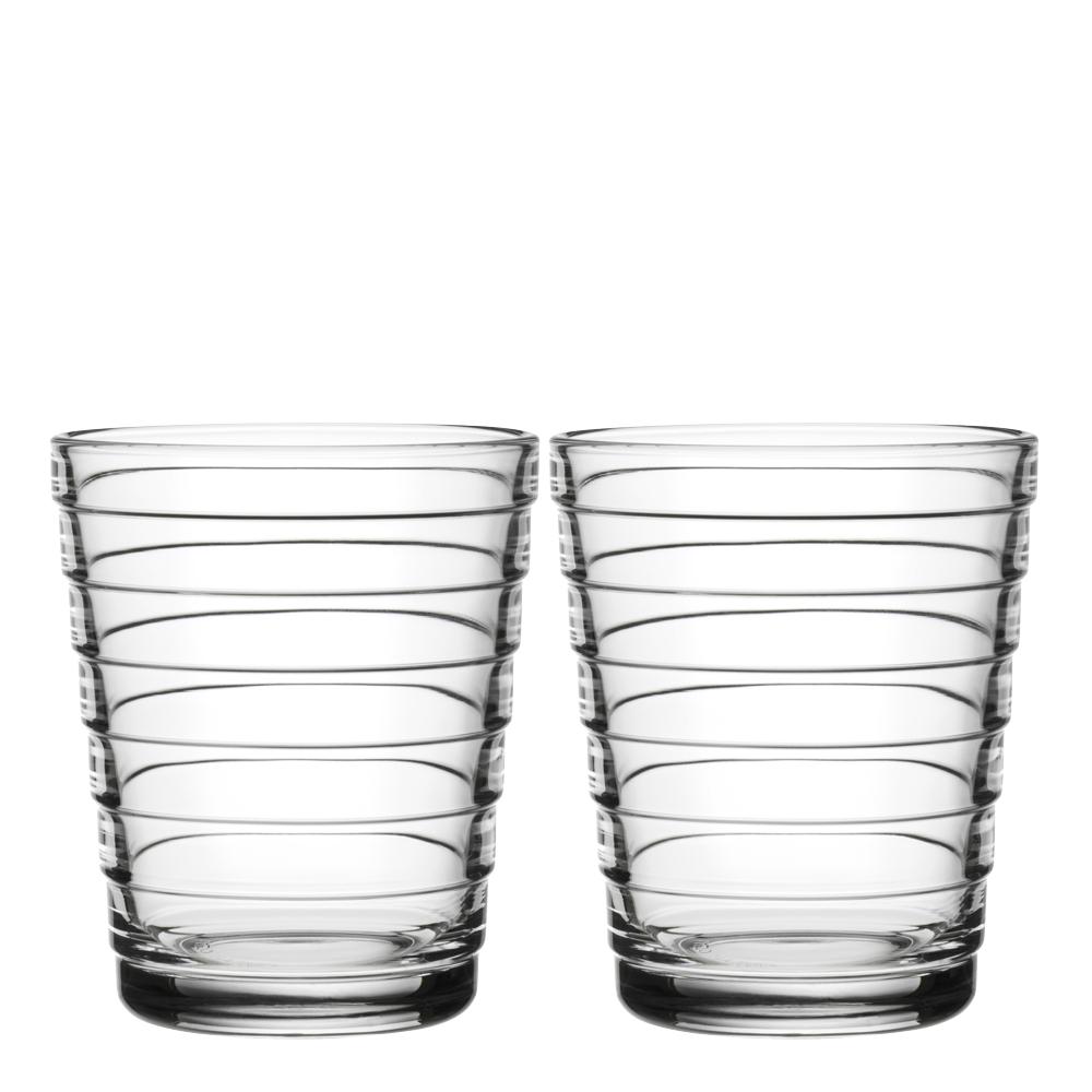 Aino Aalto Glas 22 cl 2-pack Klar