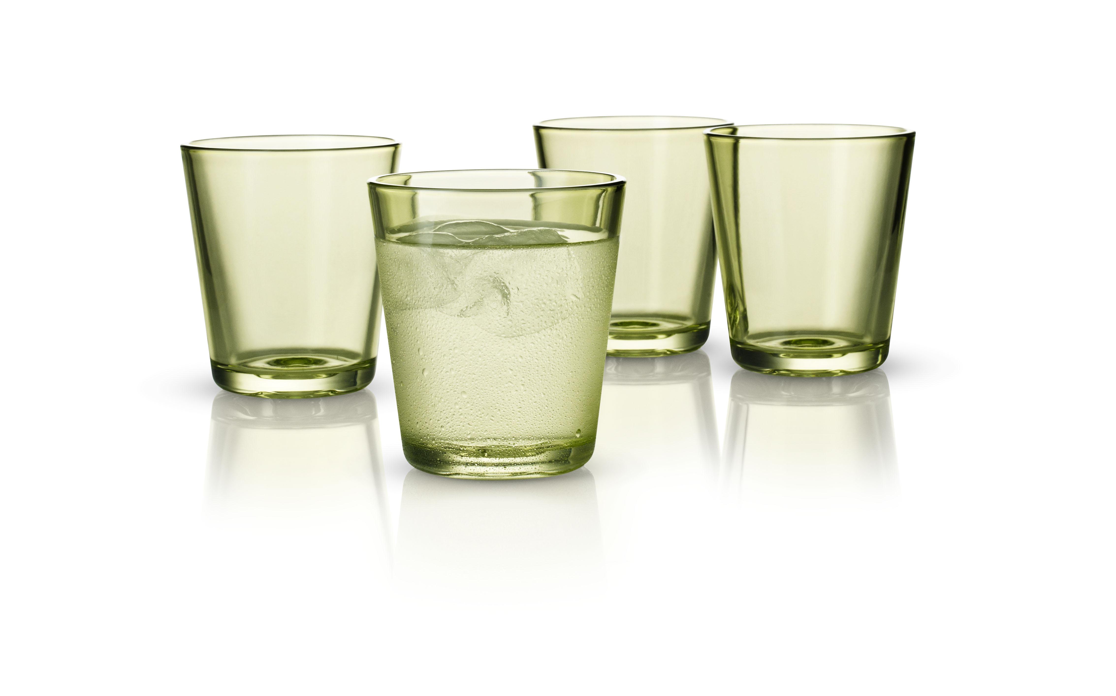Dricksglas 25 cl 4-pack Lime