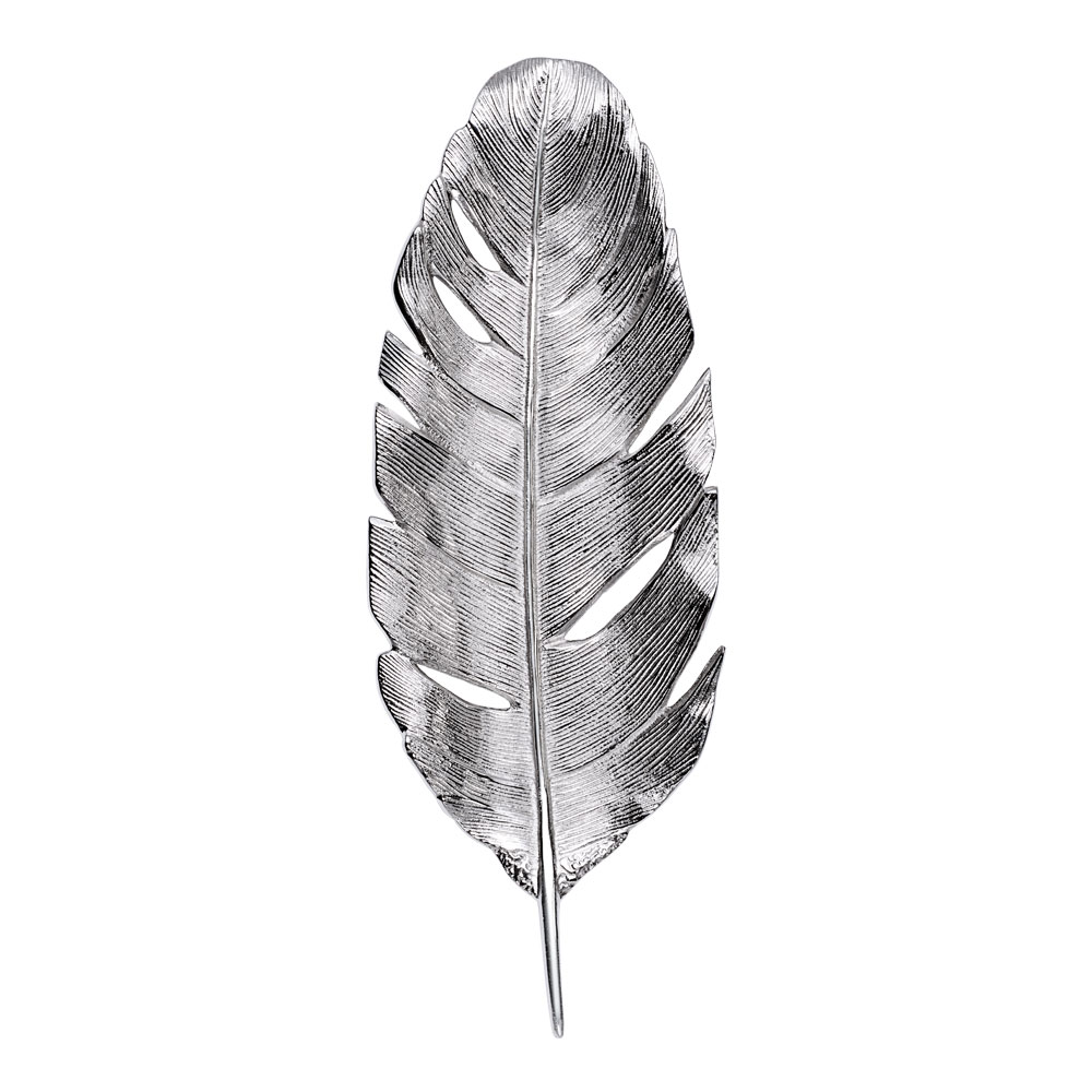 Rumours Fat fjäder 43 cm Silver