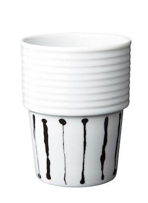 Filippa K Kaffemugg 31 cl 2-pack Ink Stripe