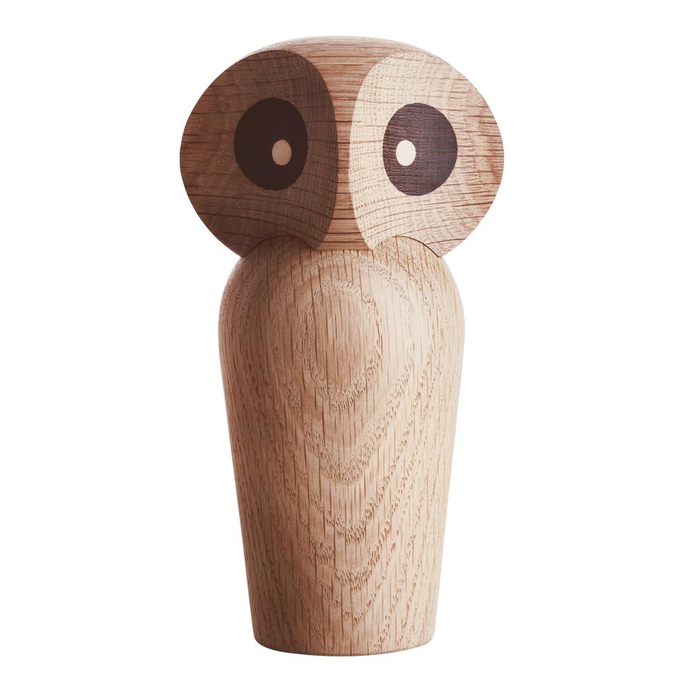 Owl 1960 Uggla 12 cm natur ek