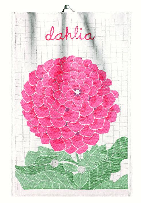 Handduk Lindas Dahlia 35×50 cm