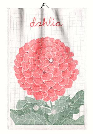 Handduk Lindas Dahlia 35x50 cm