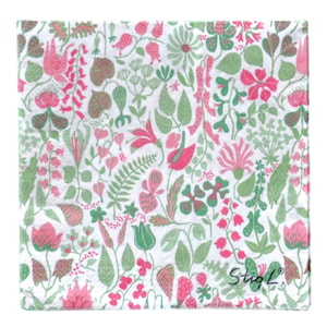 Herbarium 3 Pink Servett 33x33 cm 20-pack