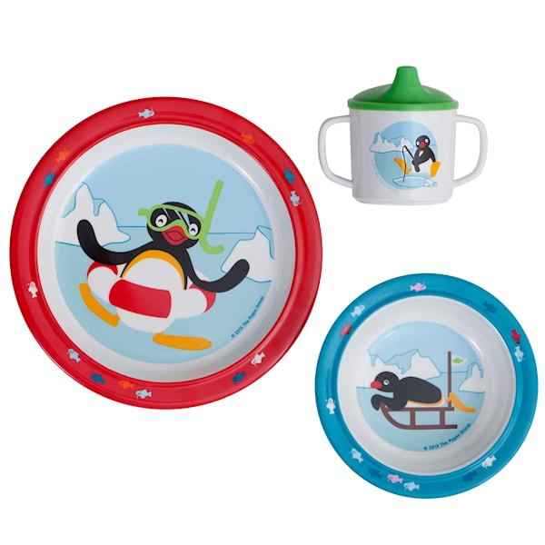 Barnservis 3 delar Pingu 2.0