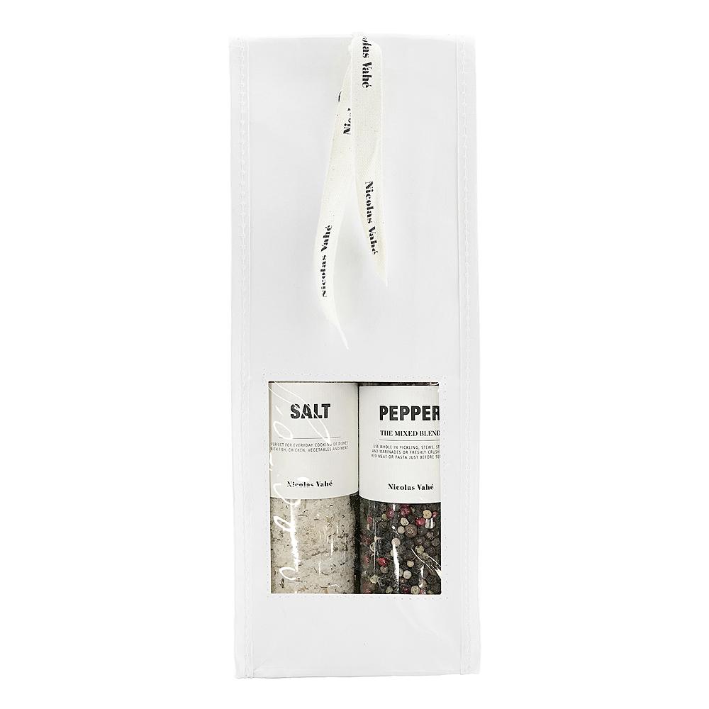 Presentpåse Salt Parmesan & Basilika + Peppar Blandat