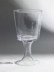 Vaser Vas på fot 15x27 cm Klar