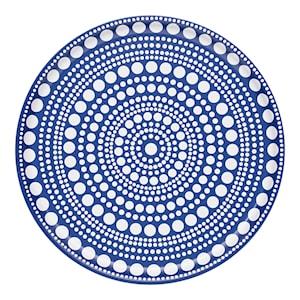 Kastehelmi Bricka 35 cm Blå
