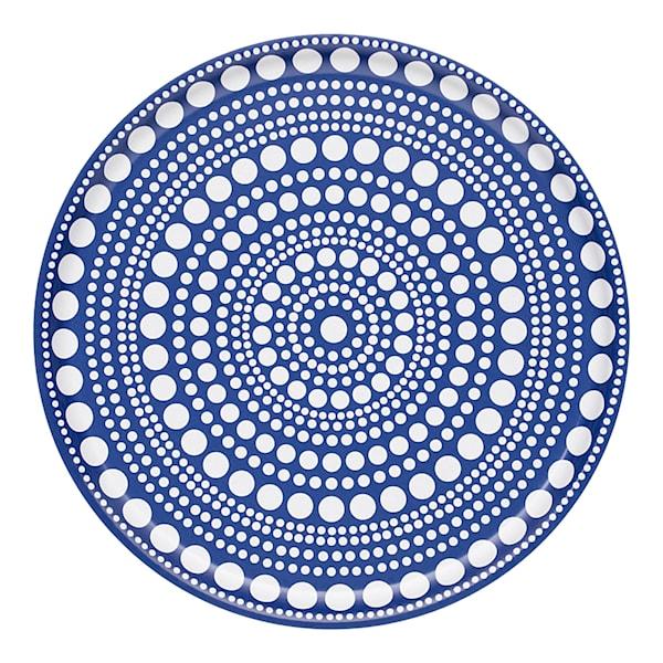 Kastehelmi Bricka 35 cm Ultramarin blå