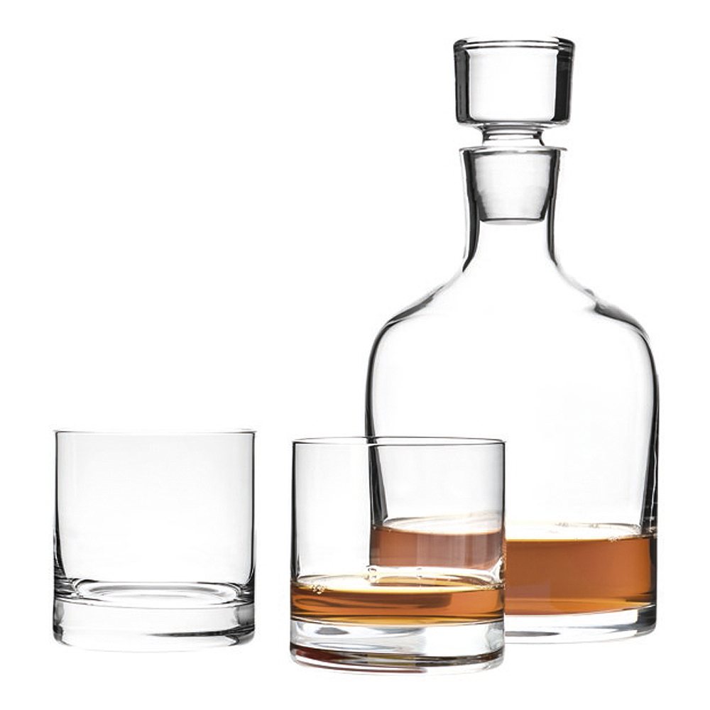 Ambrogio Whiskyset 3 delar